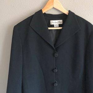 Vintage Christian Dior Wool Blazer